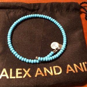 Alex and ani turquoise bracelet